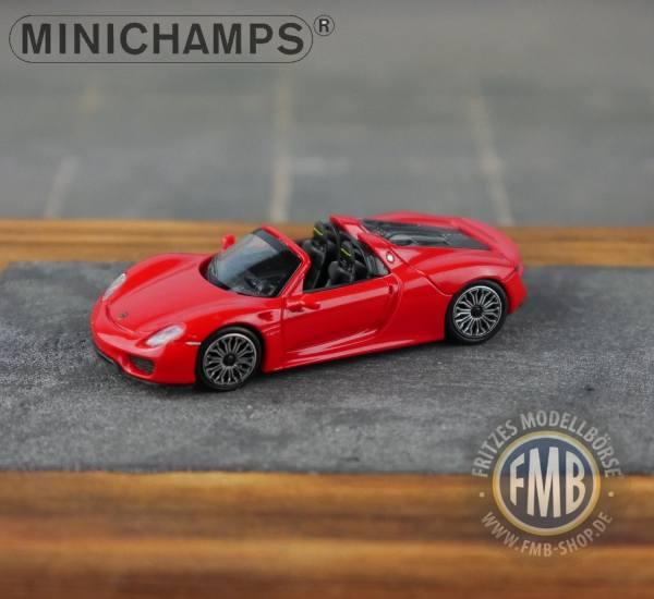 062132 - Minichamps - Porsche 918 Spyder (2013), rot
