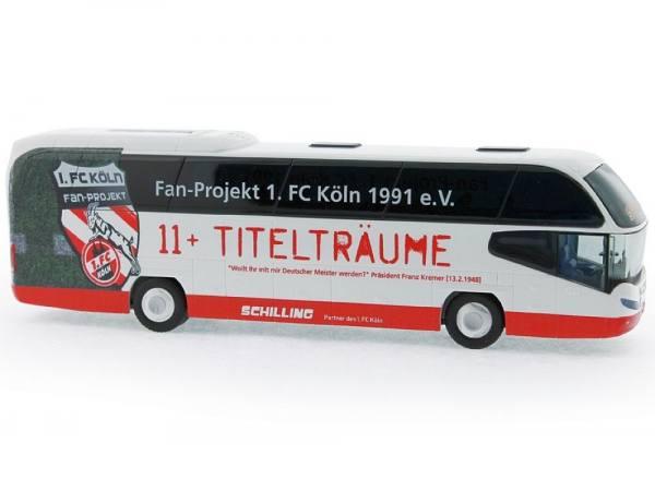 """67138 - Rietze - Neoplan Cityliner `07 - Reisebus """"Schilling Reisen - Fanbus 1. FC Köln"""""""