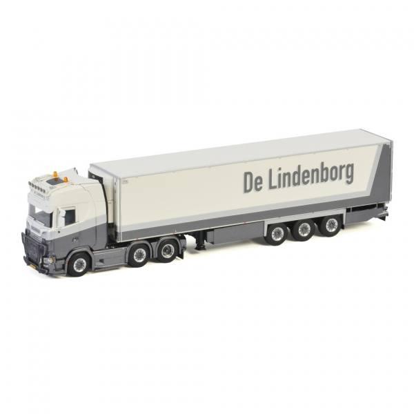01-3216 - WSI - Scania S HL 6x2 mit 3achs Kühlauflieger - De Lindenborg - NL -