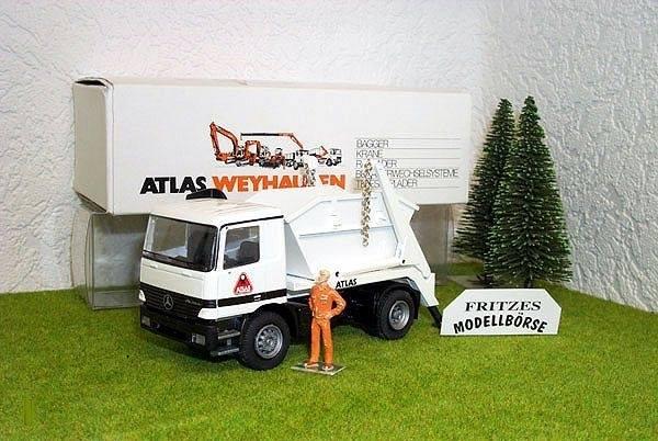 CONRAD - Atlas Mercedes Actros 2achs Absetzer -ATLAS-