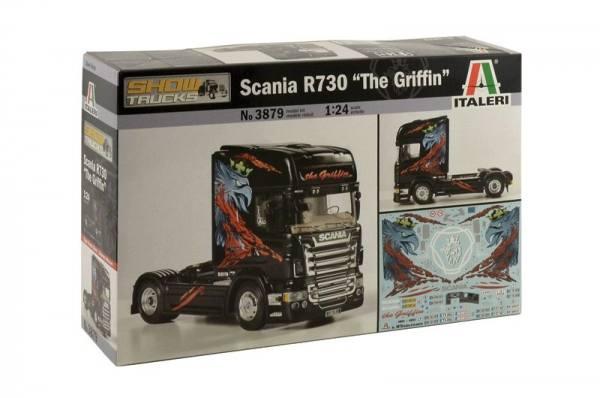 3879 - Italeri - Bausatz - Scania R730 2achs Zugmaschine - the Griffin - 1:24