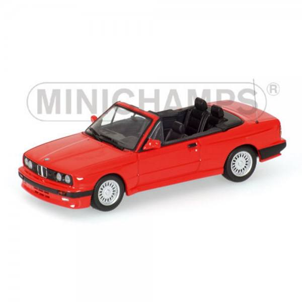 020230 - Minichamps - BMW M3 Cabrio (E30 - 1988), rot