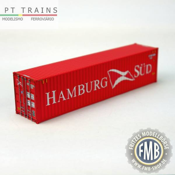 "840007.3 - PT-Trains - 40ft. Highcube Container ""Hamburg Süd - SODU5757212"""