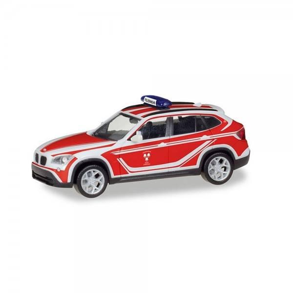 """093552 - Herpa - BMW X1 Kommandowagen """"Feuerwehr Landshut"""""""