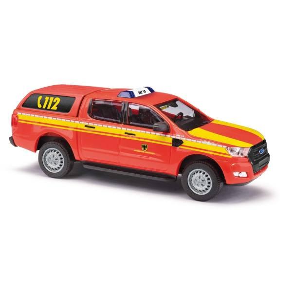 """52821 - Busch - Ford Ranger Doppelkabine `16 mit Hardtop - GW """"Feuerwehr Dortmund"""""""