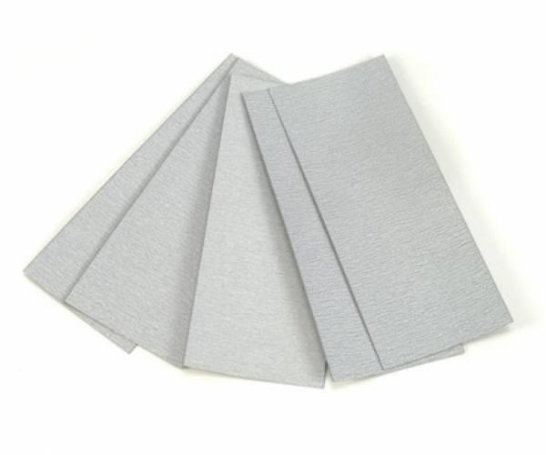 87024 - Tamiya - Schleifpapierset (5 Stk.) 1200/1500/2000 Körnung