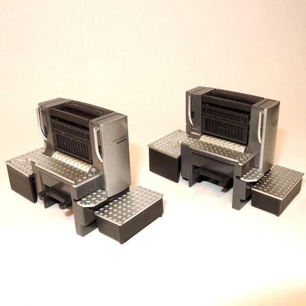 98007/0 - Conrad - Ergänzungsset Heidelberger Druckmaschine für Typ SM102-4 ( 2 Druckwerke)