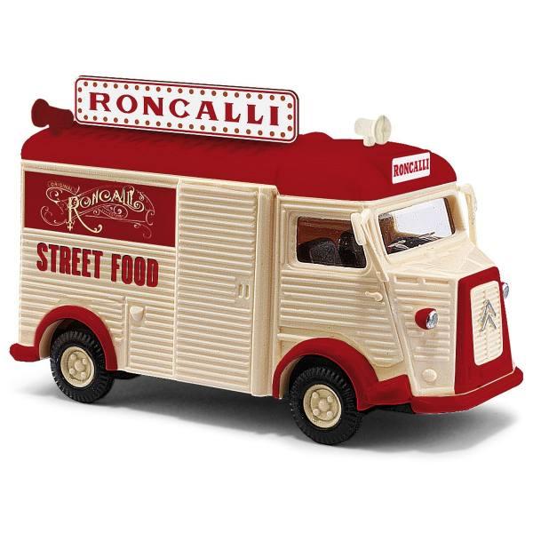 """41930 - Busch - Citroèn H Kasten """"Roncalli - Street Food"""""""