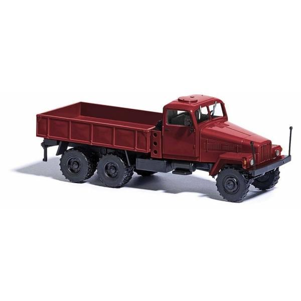 51505 - Busch - IFA G5 `60 Allrad-LKW mit Spill, weinrot - DDR