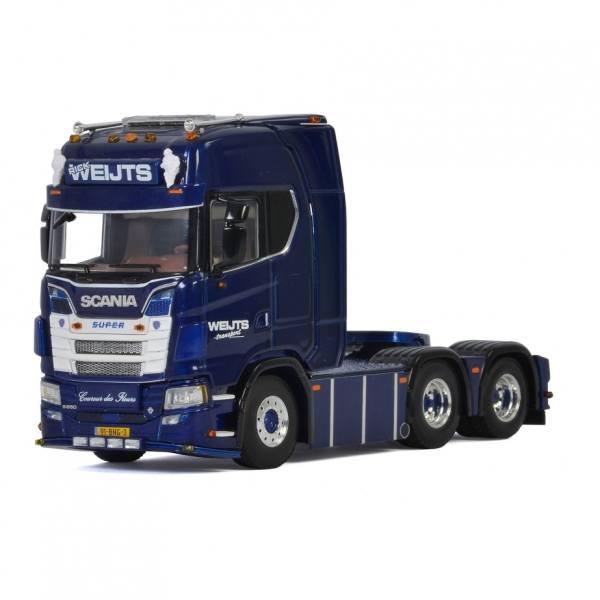 01-3250 - WSI - Scania S650 V8 Highline 6x2 3achs Zugmaschine - Weijts Transport - NL -