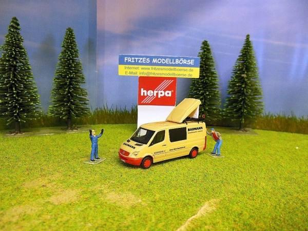 908542 - Herpa - Mercedes-Benz Sprinter ´06 Halbbus BF3 -BAUMANN-