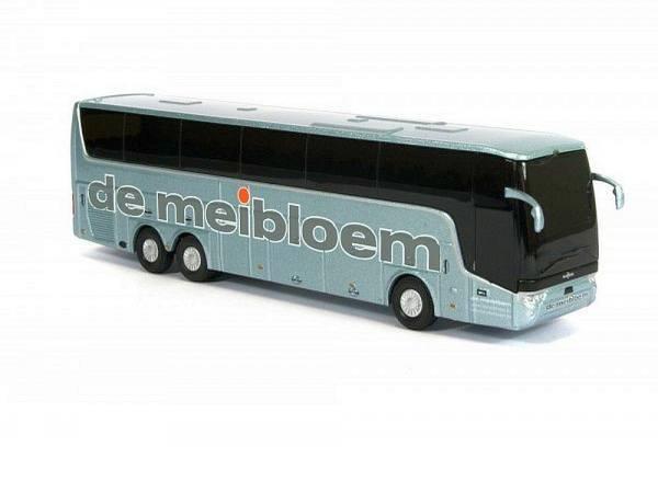 """8-1148s - Holland Oto - Van Hool TX16 Astron Reisebus """"de Meibloem"""" silber metallic, BE"""