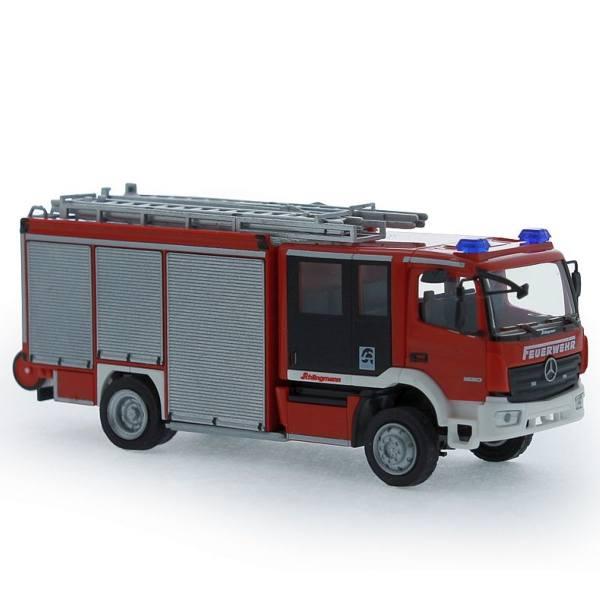 72900 - Rietze - MB Atego''13 Schlingmann Varus HLF20 -Schlingmann Vorführdesign-