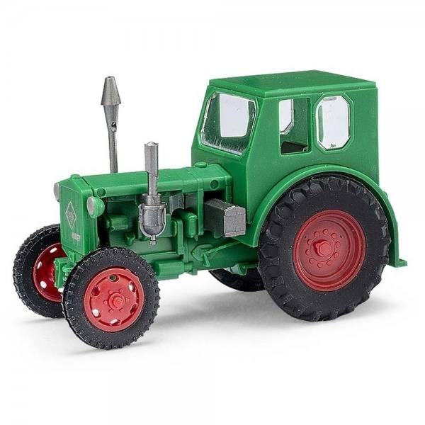 210 006400 - Mehlhose - RS01/40 Pionier Traktor mit Kabine -grün/rot- DDR