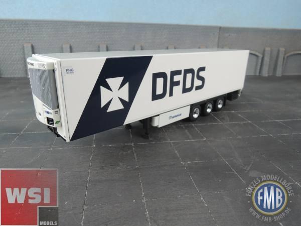 04-2075 - WSI - 3 achs Kühlauflieger - DFDS Copenhagen - DK