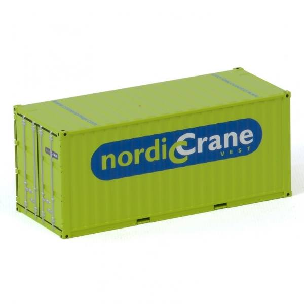 01-3158 - WSI - 20ft Container mit Verladehilfe - Nordic Crane - NOR