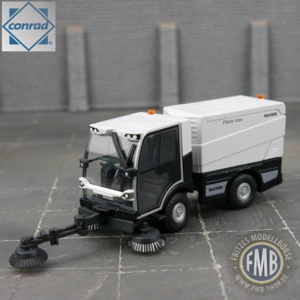 5521/0 - Conrad - Bucher Municipal CityCat V20 Kompakt-Kehrmaschine, weiß