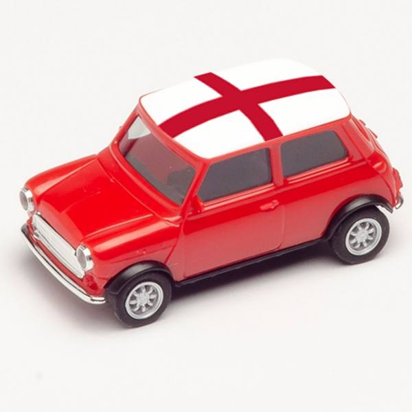 "420631 - Herpa - Mini Cooper, rot ""EM 2021 - England"""