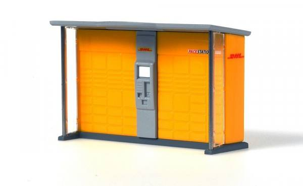 70217 - Rietze - DHL Packstation , eckig - Fertigmodell