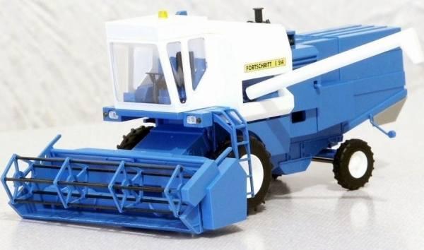 40160 - Busch - Fortschritt E514 Mähdrescher -blau-