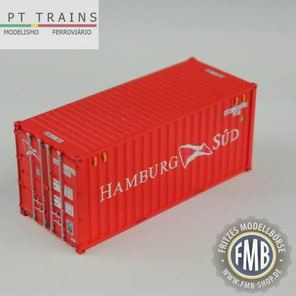 "820007 - PT-Trains - 20ft. Container ""Hamburg Süd - SUDU171308"""