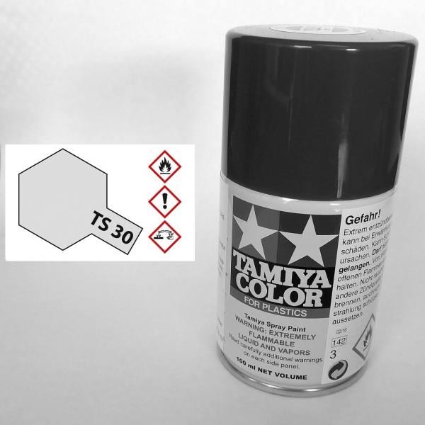 85030 - Tamiya - Metallic Silber glänzend 100ml , Sprühdose TS-30