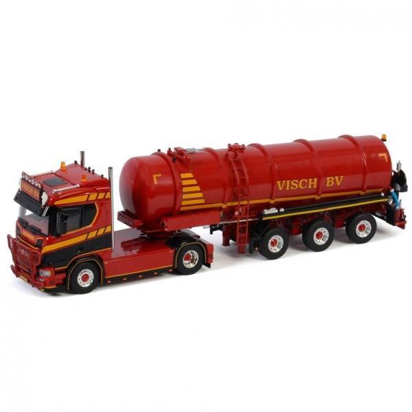 01-3109 - WSI - Scania R 4x2 mit 3achs Vakuumauflieger - Visch - NL -