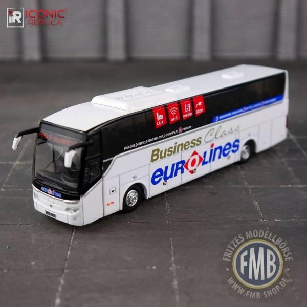 "87-0100 - Iconic Replica - Temsa Maraton 13 Reisebus ""Euro-Lines, Linie Prag - Budapest"" CZ"