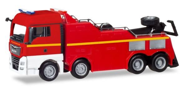 309608 - Herpa - MAN TGX XLX Euro6c Empl Bergefahrzeug, Feuerwehr neutral
