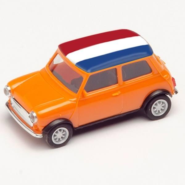 "420679 - Herpa - Mini Cooper, orange ""EM 2021 - Niederlande"""