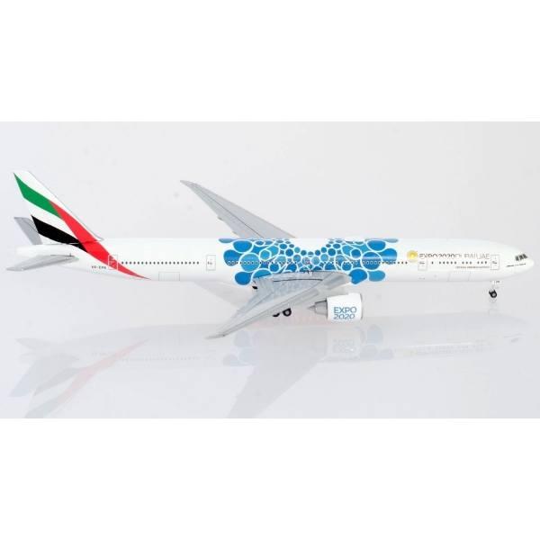 "533669 - Herpa - Emirates  Boeing 777-300ER ""Expo 2020 Dubai / Mobility"""