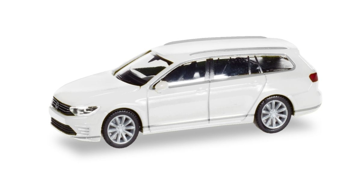 1//87 Herpa VW Passat Variant GTE E-Hybrid havardblue metallic 038980