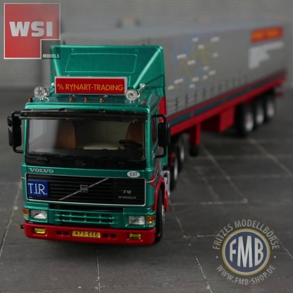 01-2680 - WSI - Volvo F12 mit 3achs Planenauflieger - Rynart Trading - NL -