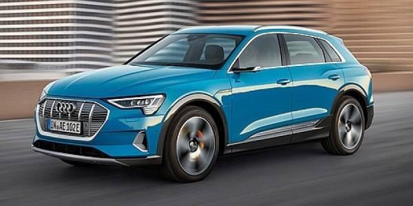 018220 - Minichamps - Audi E-Tron E-Mobility, blau