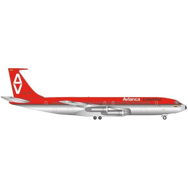 """534093 - Herpa - Avianca Boeing 707-300 """"Sucre"""""""