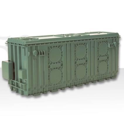 99917/02 - Conrad - Transformator, grün - ideal als Ladegut