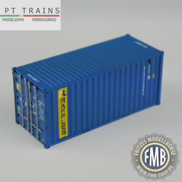 "820009 - PT-Trains - 20ft. Container ""Raffles - RFCU2268981"""
