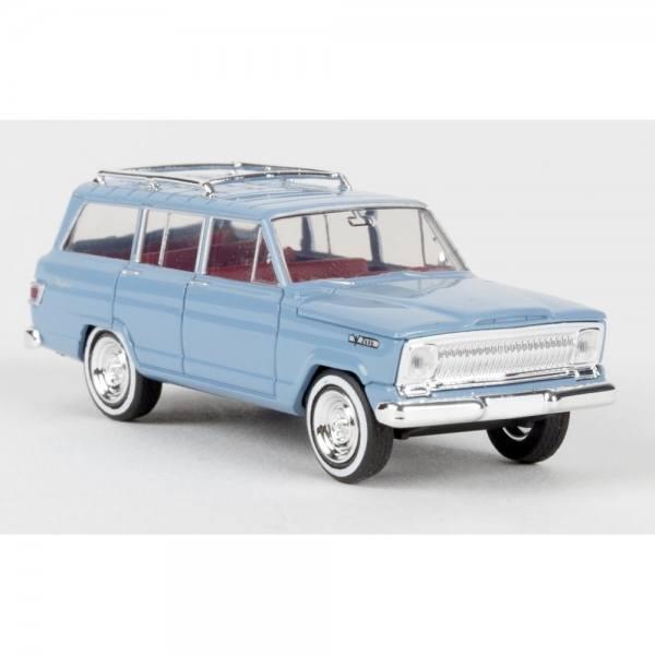 19852 - Brekina - Jeep Wagoneer (1966-1970) , pastellblau