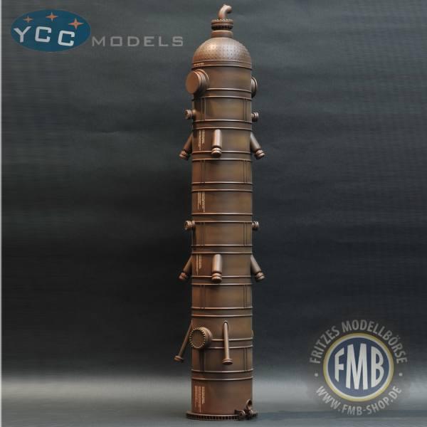 YC570-6 - YCC Models - Reaktor Ladegut - coke drum - eisenbraun gealtert