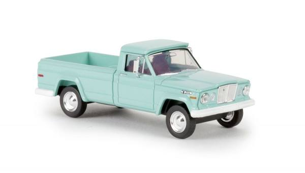 19800 - Brekina - Jeep Gladiator (Baujahr 1962), pastellgrün
