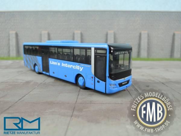 """74703 - Rietze - MAN Lion''s Intercity Überlandbus """"Vorführdesign"""""""