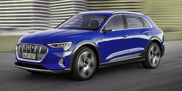 018222 - Minichamps - Audi E-Tron E-Mobility, dunkelblau