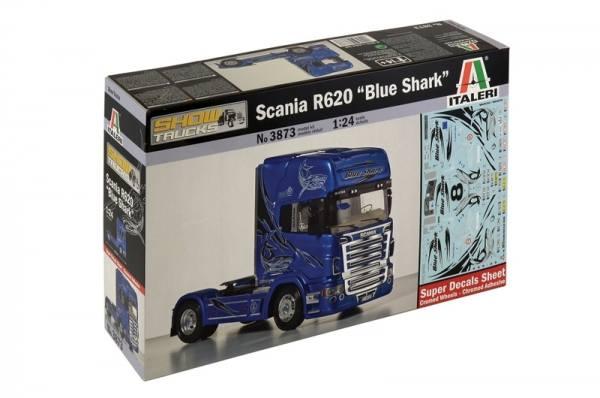 3873 - Italeri - Bausatz - 2achs Scania R620 Topline Zugmaschine, mit Decals - 1:24