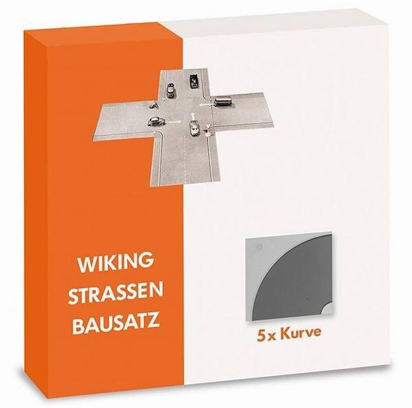 119903 - Wiking - Strassen Bausatz - 5x Kurve
