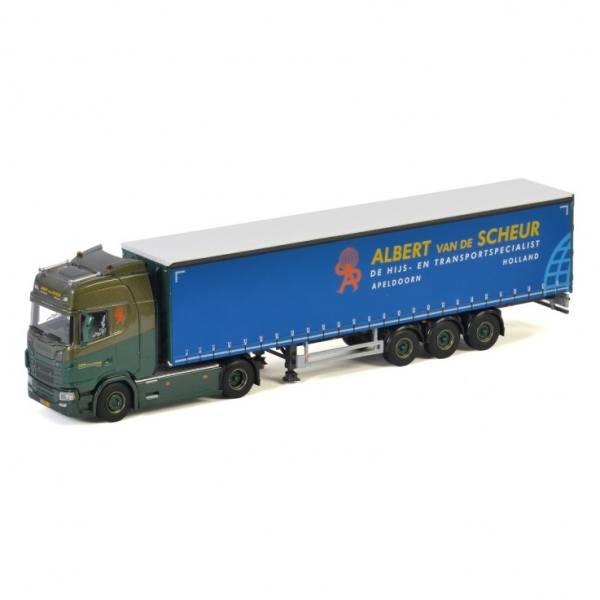 01-3495 - WSI - Scania S HL CS20H 4x2 mit 3achs Planenauflieger - Albert van de Scheur - NL -