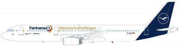 """612104 - Herpa - Lufthansa   Airbus A321 """"Fanhansa 2018"""""""
