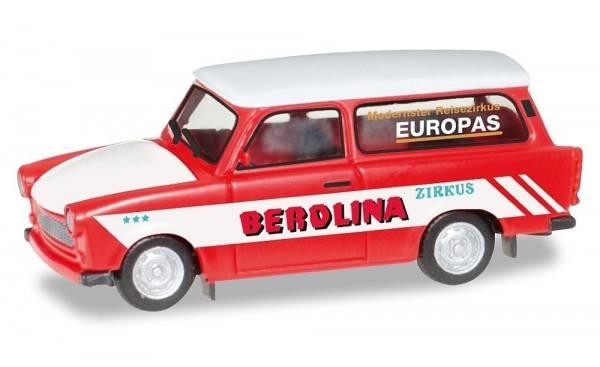 "092739 - Herpa - Trabant 601 Universal ""Zirkus Berolina"""