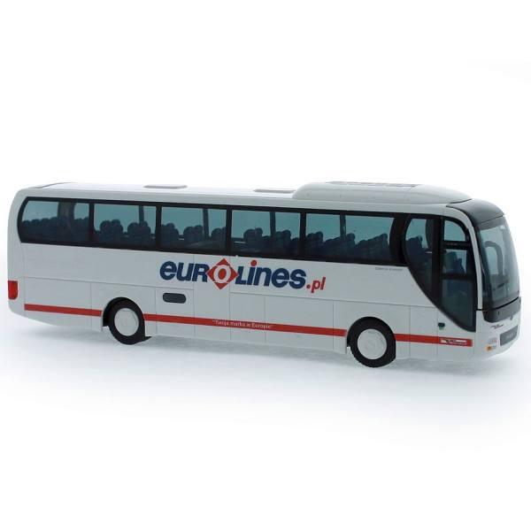 """65556 - Rietze - MAN Lion''s Coach `15 - Reisebus """"Eurolines"""" PL"""