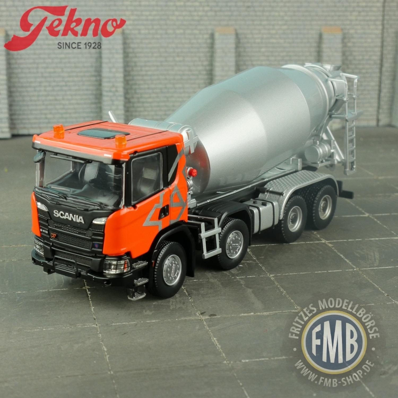 Scania G 410 8x4 Betonmischer Tekno  2778949 1:50