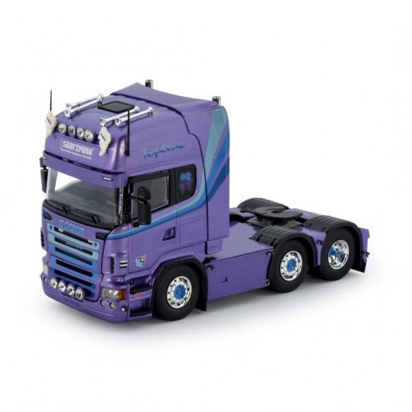 76255 - Tekno - Scania R-serie TL 6x2 3achs Zugmaschine - Semtrade - NL -